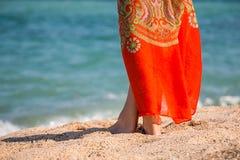 Mooie vrouwens benen Stock Foto