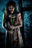 Romantische zombie Royalty-vrije Stock Fotografie