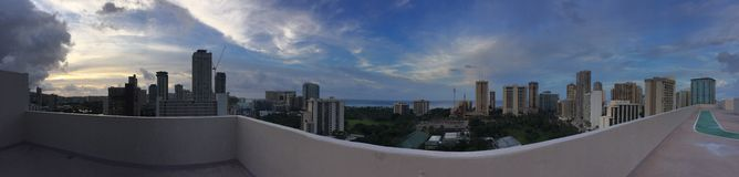 Mooie Waikiki Stock Afbeelding
