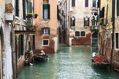 Groot Kanaal in Venetië, Italië royalty-vrije stock afbeelding