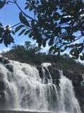 Mooie waterval in 'chapadados veadeiros' stock foto