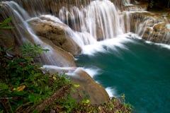 Mooie waterval. Stock Afbeeldingen