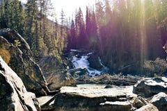 Mooie waterval stock foto's