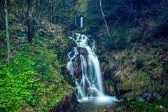 Mooie waterval in Beskydy Royalty-vrije Stock Fotografie