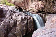 Mooie waterval bij Christopher-kreek royalty-vrije stock afbeelding