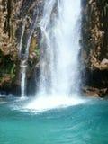 Mooie waterval in Kroatië No.1 royalty-vrije stock afbeeldingen