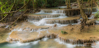 Mooie Waterval in Thailand Stock Fotografie