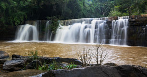 Mooie waterval van Thailand Royalty-vrije Stock Afbeelding