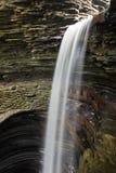 Mooie watervalcascade Royalty-vrije Stock Afbeelding