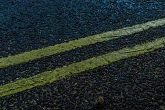 Mooie wegtextuur bij nacht stock afbeeldingen