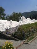 Mooie Witte berg stock foto