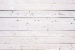Mooie witte houten oude raad royalty-vrije stock foto's