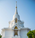Mooie witte pagode Stock Afbeelding