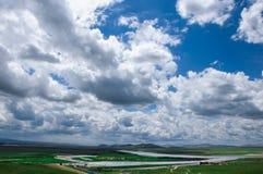 Mooie wolk Royalty-vrije Stock Afbeeldingen