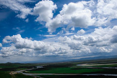 Mooie wolk Royalty-vrije Stock Foto