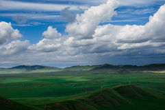 Mooie wolk Royalty-vrije Stock Afbeelding