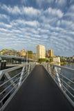Mooie wolk in de Ochtend in Sydney Stock Foto