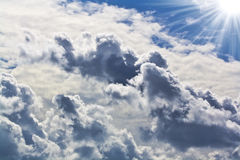 Mooie wolken Royalty-vrije Stock Fotografie