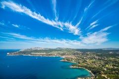 Mooie wolken in de hemel Royalty-vrije Stock Foto's