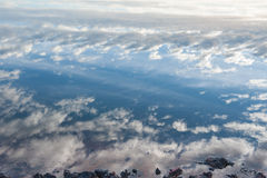 Mooie wolken en hemel stock afbeelding