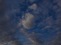 Mooie wolkenfoto Royalty-vrije Stock Foto's