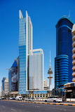 Mooie wolkenkrabbers van de Stad van Koeweit Royalty-vrije Stock Foto