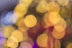 Mooie zachte veelkleurige bokehachtergrond Het klopje van Defocusedlichten Royalty-vrije Stock Afbeeldingen