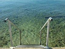 Mooie Zadar, stad, strand, sloot, restaurant, onlangs, levend programma, recente muziek, nacht, overzees, kust, kleuren stock afbeeldingen