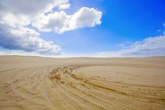 Mooie zandduinen, Australië. Royalty-vrije Stock Fotografie
