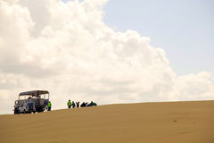 Mooie zandduinen, Australië. Royalty-vrije Stock Afbeelding