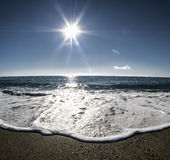 Mooie zonnige dag Stock Foto's