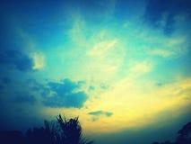 Mooie Zonsondergang stock foto