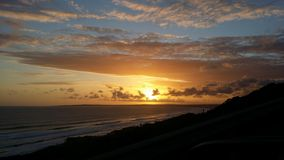 Mooie Zonsondergang stock afbeeldingen