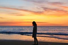 Mooie zonsondergang in de stad van Darwin stock foto
