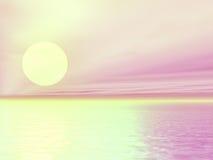 Mooie zonsopgang Royalty-vrije Stock Afbeelding