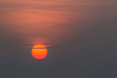 Mooie zonsopgang. Royalty-vrije Stock Foto's