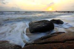Mooie zonsopgang royalty-vrije stock afbeeldingen
