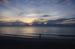 Mooie zonsopgang in de ochtend Stock Fotografie