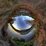 Mooie zonsopgangplaneet Stock Fotografie