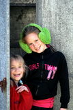 Mooie zusters Stock Afbeelding