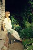 Mooie zwangere vrouw Royalty-vrije Stock Fotografie