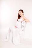 Mooie zwangere vrouwen Royalty-vrije Stock Foto's
