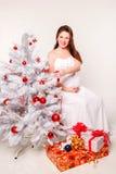 Mooie zwangere vrouwen Stock Afbeeldingen