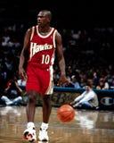 Mookie Blaylock, Atlanta Hawks. Royalty Free Stock Photos