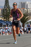 MOOLOOLABA, AUSTRALIA - SEPTEMBER 14 : Pro Radka Vodickova 2nd in the Stock Images
