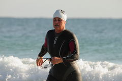 MOOLOOLABA, AUSTRALIA - SEPTEMBER 14 : Unidentified competitor in the Stock Image