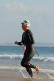 MOOLOOLABA, AUSTRALIA - SEPTEMBER 14 : Unidentified competitor in the Stock Images