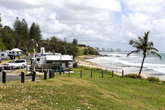 Mooloolaba Caravan Park Stock Photo