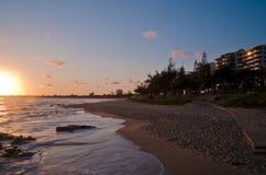 Mooloolaba Sunrise Stock Photo