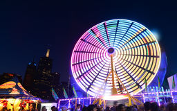 Moomba festival-ferris wheel Royalty Free Stock Photo